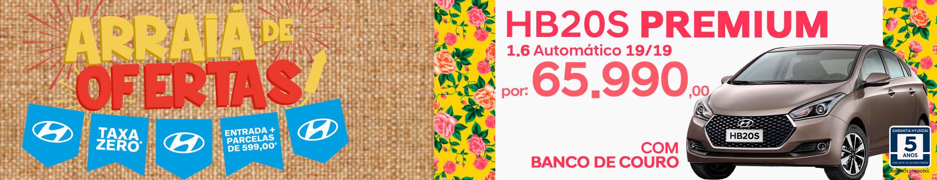 HB20s Premium c/ Bancos de Couro