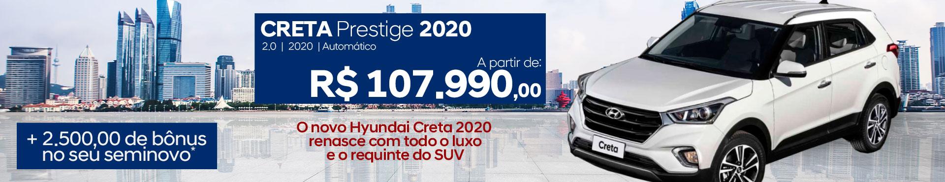 Creta Prestige 2020