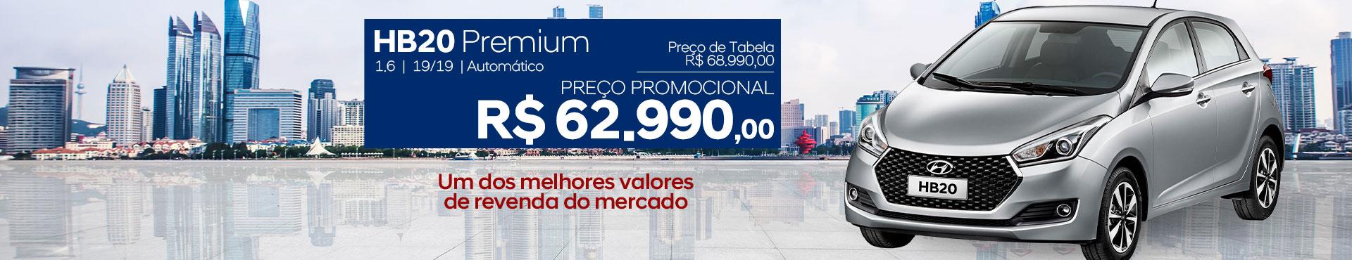 HB20 Premium c/ Bancos de couro